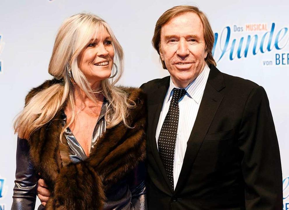 Seit 22 Jahren verheiratet: Elvira und Günter Netzer  | Foto: Markus Scholz