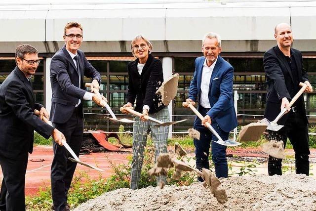 Bau der Sporthalle am Gundelfinger Schulzentrum beginnt