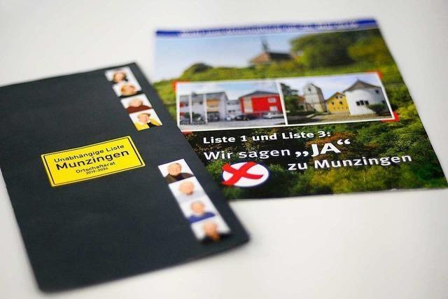 Bei der verschobenen Ratswahl in Munzingen tritt eine weitere Liste an