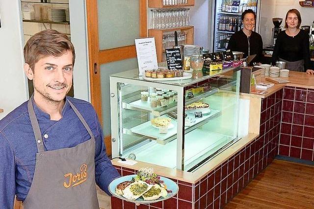 Café Joris im Stühlinger setzt auf saisonale und regionale Kost