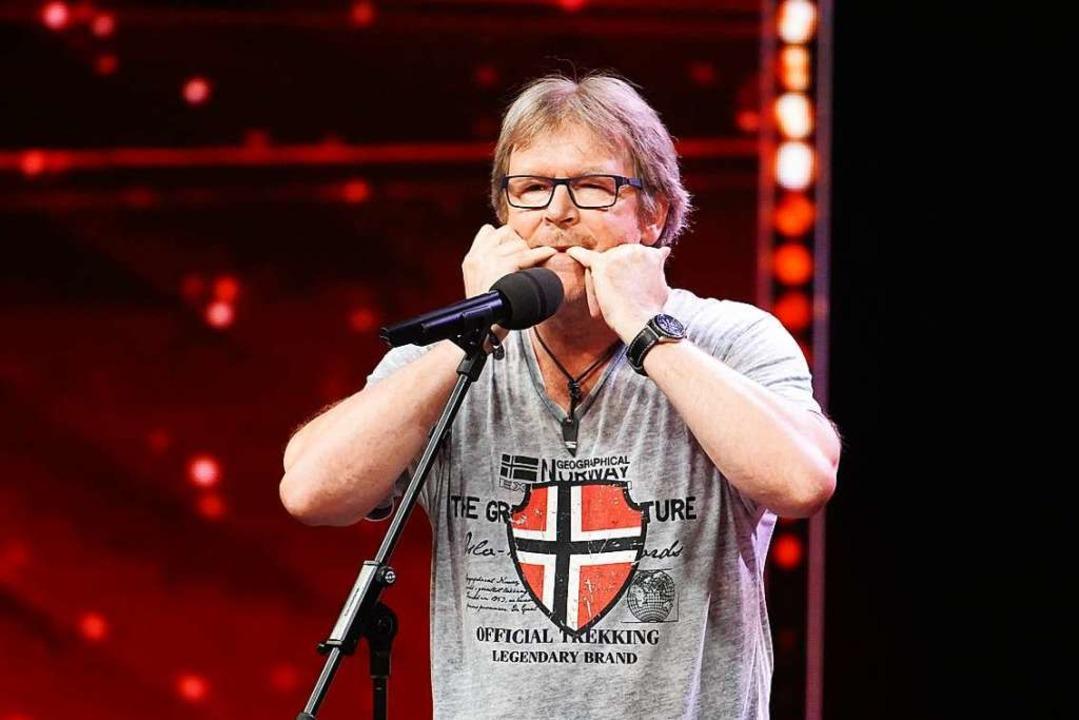 Jürgen Kern ist beim Supertalent dabei.    Foto: TVNOW / Stefan Gregorowius