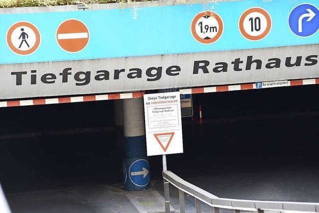 Zwei Lörracher Tiefgaragen müssen für mehrere Millionen Euro saniert werden