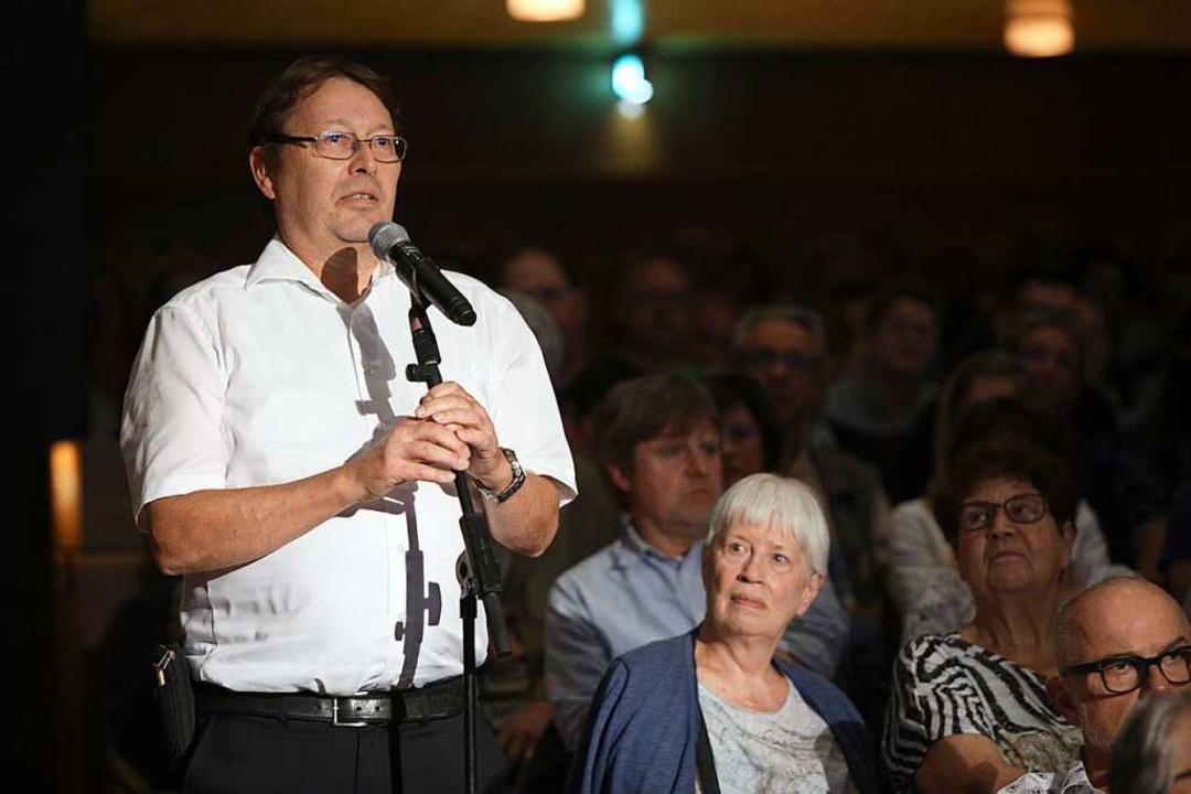 Fragerunde für Bürger  | Foto: Christoph Breithaupt