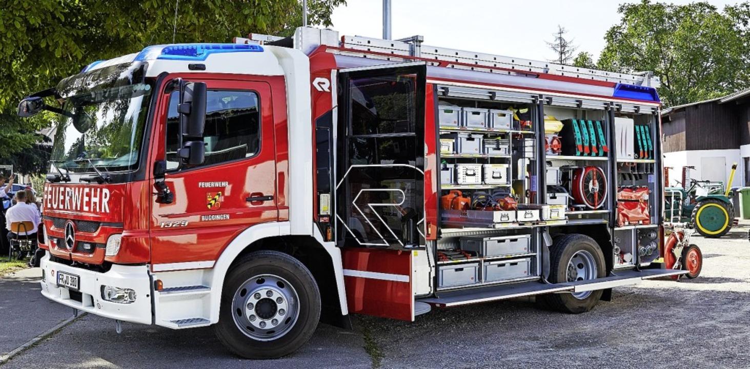 | Foto: Feuerwehr Buggingen