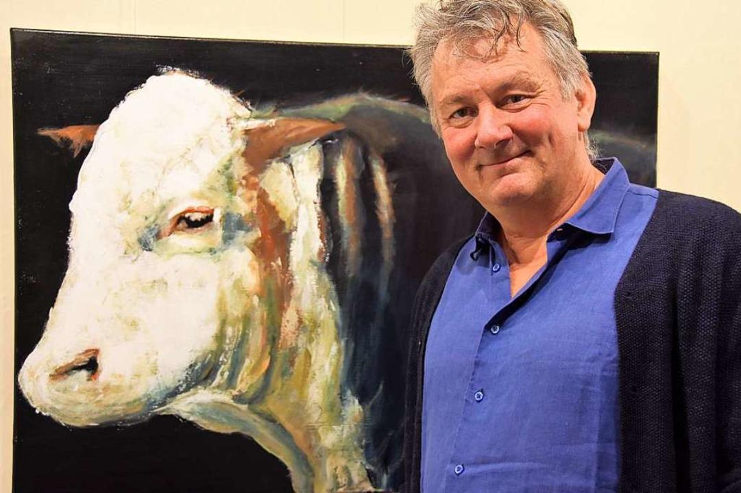 Der Glottertäler Jörg Bretzinger hat a...einer Freizeit malt er sie <ppp></ppp>  | Foto: Andrea Steinhart