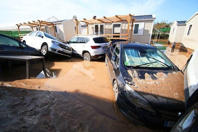 Zahl der Todesopfer durch Unwetter in Spanien auf vier gestiegen