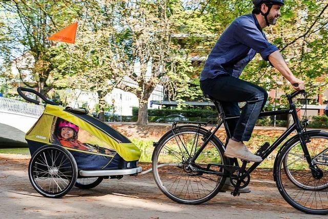 So vielfältig transportieren Eltern ihren Nachwuchs auf dem Fahrrad