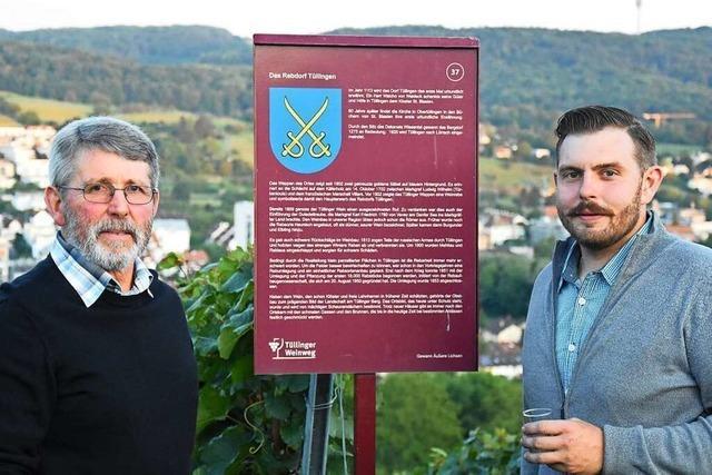 Der Tüllinger ist der Weinberg der Stadt Lörrach