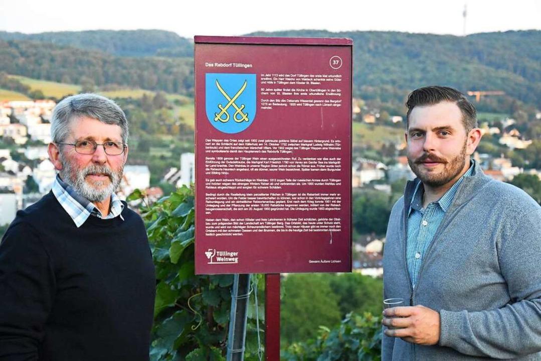 Zwei Generationen: Karlheinz Ruser (links) und Michi Lindemer    Foto: Kathrin Ganter