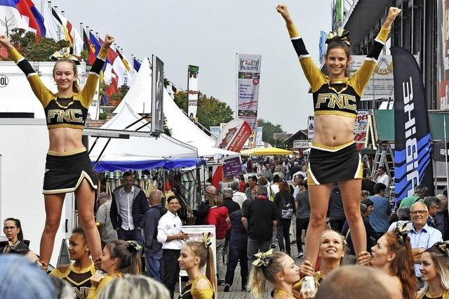 In Freiburg hat seit Samstag die 66. Baden Messe geöffnet