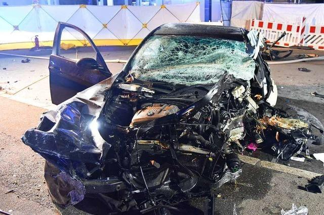 Vier Schwerverletzte bei Verkehrsunfall in Rheinfelden