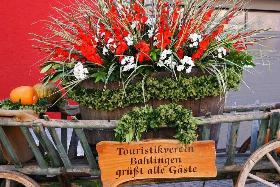 Willkommensgruß für die Festbesucher (Foto: Christiane Franz)