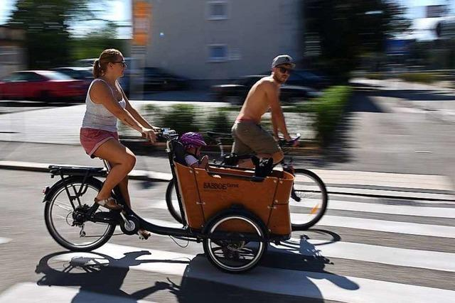 Auf Inlinern und Fahrrädern durch das Dreiland – der Slow-up