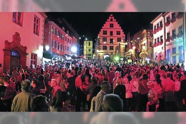 Tausende feiern bei der Lichternacht