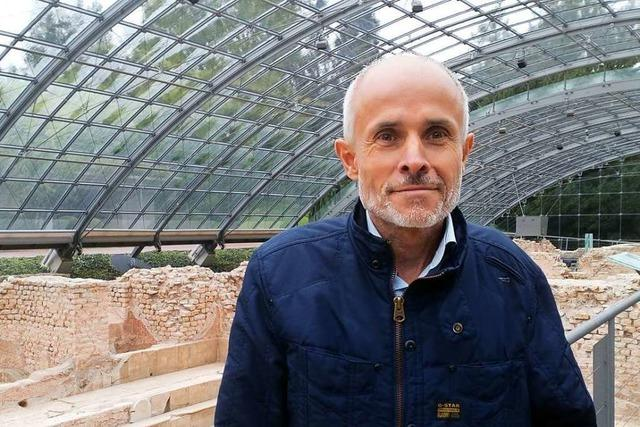 Mario Singer, Bürgermeister von Malsburg-Marzell, kandidiert in Badenweiler