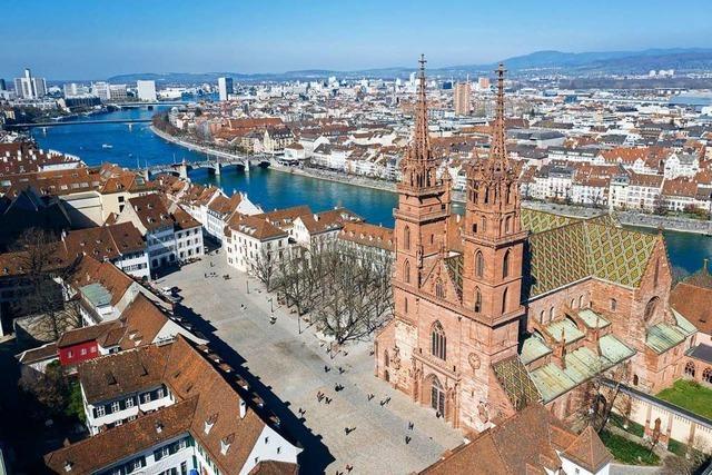 Warum sich so viele Besucher für das Dach des Basler Münsters interessieren