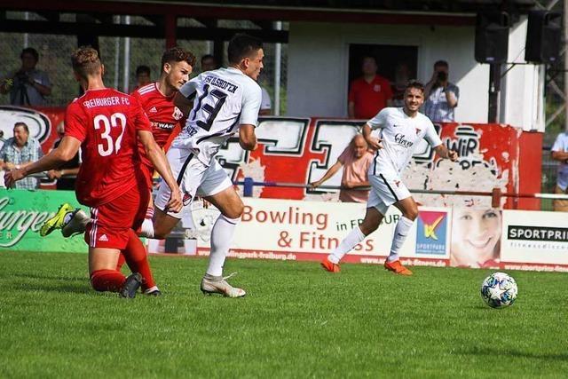 Freiburger FC verliert auch sein drittes Spiel in Folge