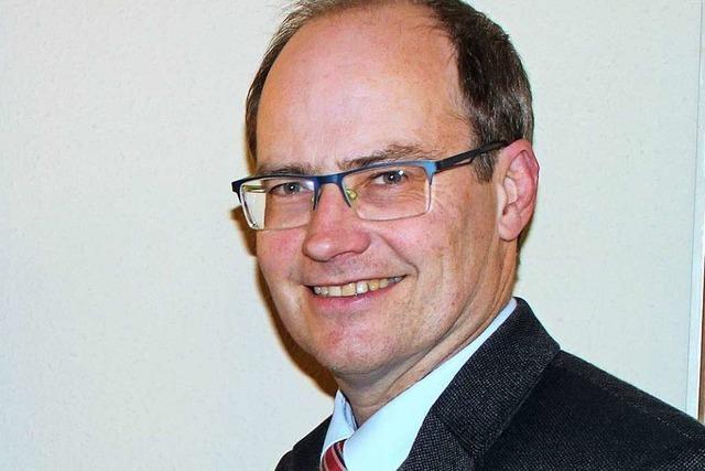 Bürgermeister Christian Renkert kandidiert in Schliengen