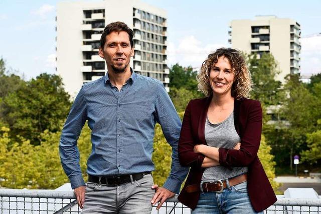 Sascha Oehme und Barbara Schwendemann verknüpfen Stadtverwaltung und Quartiersarbeit in Freiburg