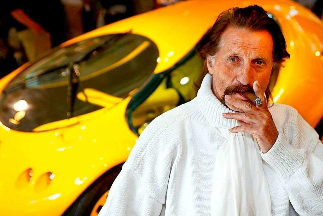 Er hat als dickköpfig und egozentrisch... war stets ein Visionär: Luigi Colani.  | Foto: Andreas Lander (dpa)