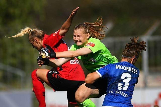 SC-Fußballerinnen kommen gegen den SC Sand über gute Ansätze nicht hinaus