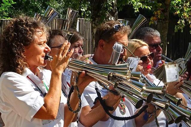 Ein Freiburger Orchester zeigt in Märkt, wie eine Schalmei klingt