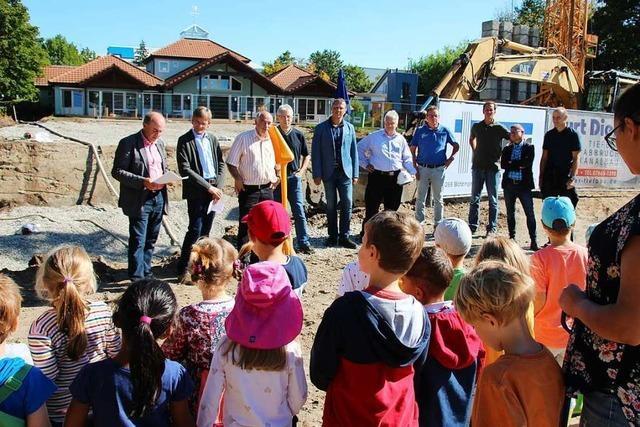 Die Erweiterung des Bötzinger Gemeindekindergartens