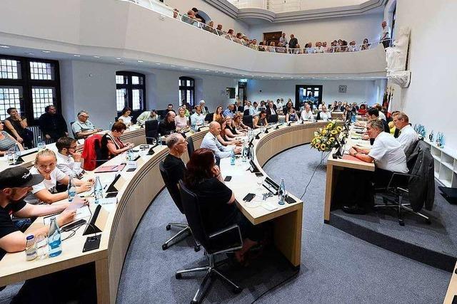 Der neue Freiburger Gemeinderat stimmt über die Besetzung der Ausschüsse und Aufsichtsräte ab