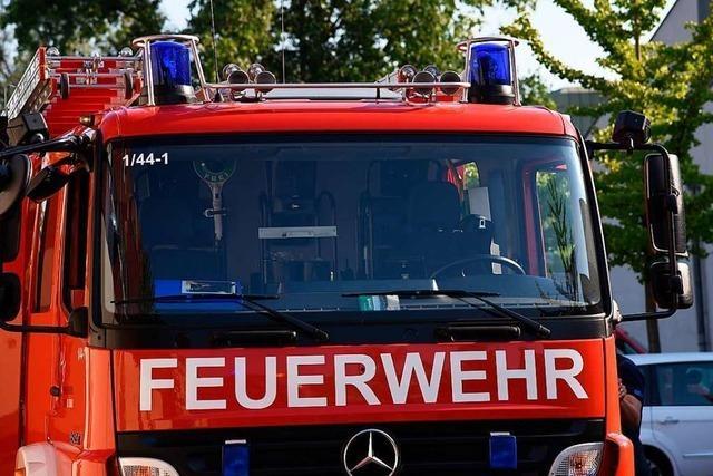 Unbekannte verbrennen Staubsauger auf dem Waldspielplatz