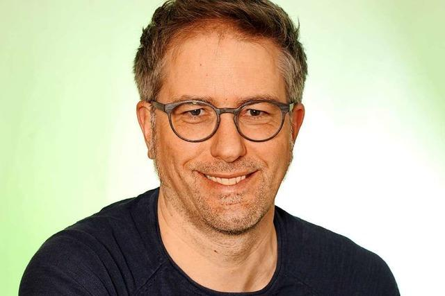 Holger Beha (Grüne) will bezahlbaren Wohnraum, weniger Müll und gutes Essen für Gundelfingen