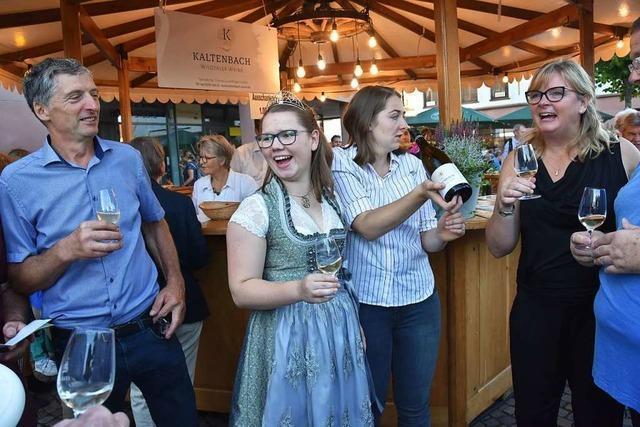 Wie war's beim... Weinfest am Wochenende in Gundelfingen?
