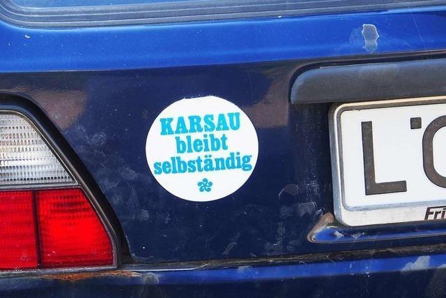 Der Verlust der Selbständigkeit schmerzt in Karsau immer noch