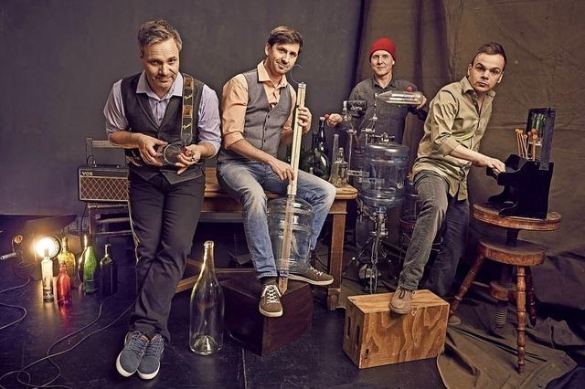Das Glas Blas Sing Quartett ruft in seiner neuen Show auf zum