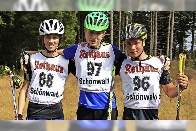 Doppelerfolg für Nils Gutmann und Jannis Dold