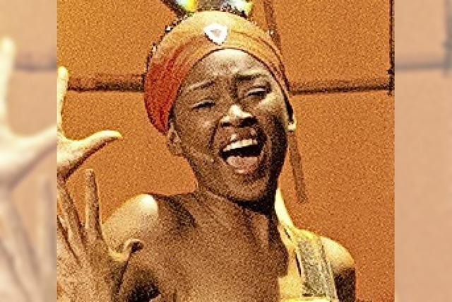 Isata Kamara kehrt zurück ins Gloria-Theater
