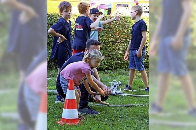 Viele Gäste beim Feuerwehr-Tag