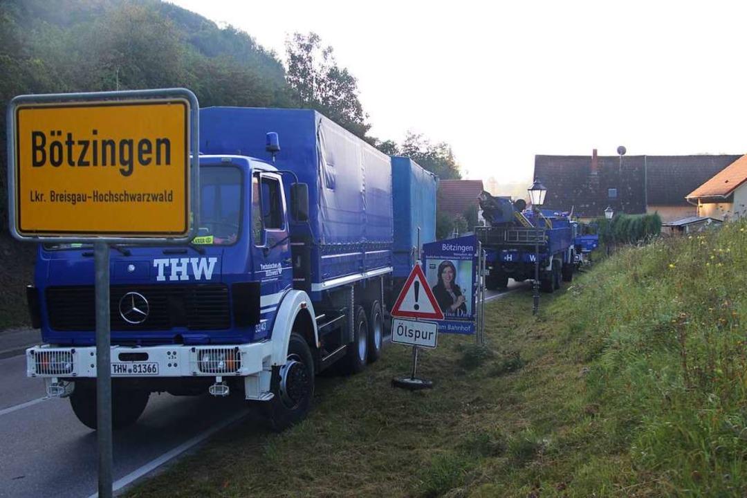 Die Unfallstelle befindet sich kur nac...er Ortseinfahrt von Vogtsburg kommend.  | Foto: Horst David