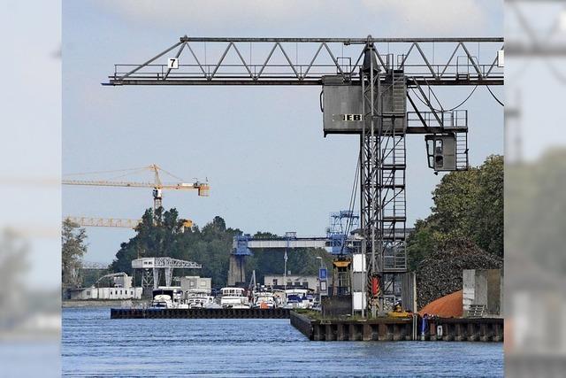 Neue Flächen für den Rheinhafen – drei Planvarianten im Gespräch