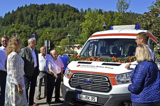 Rotes Kreuz in Zell ist wieder mobil