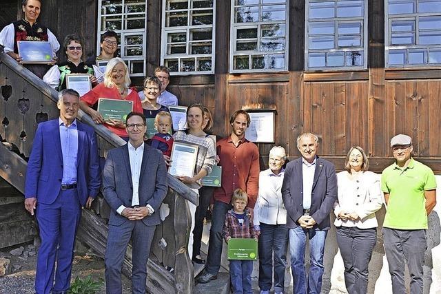 Biosphärengebiet ernennt sieben neue Botschafter