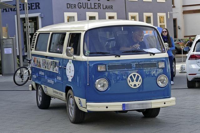 E-Mobil-Rallye macht Halt in Lahr
