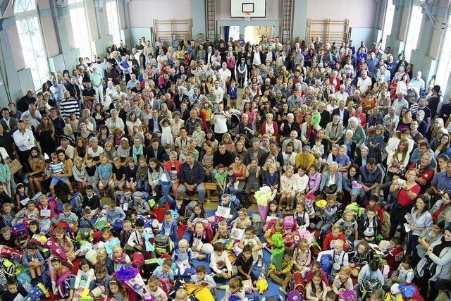 Erstmals Start als reine Grundschule