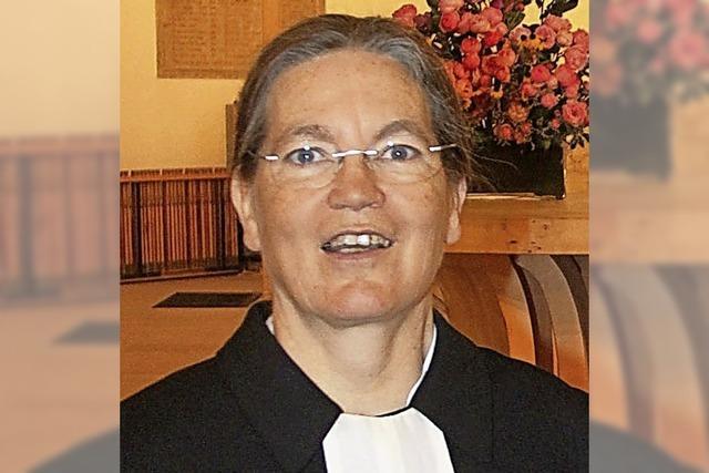 Neue Pfarrerin in Eichstetten