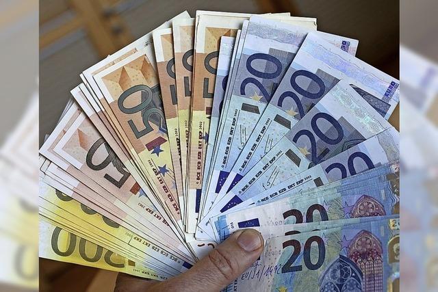 Gemeinde freut sich über hohe Einnahmen