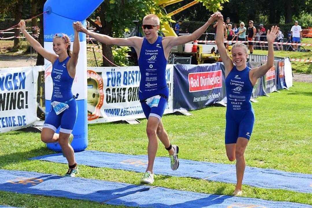 Sieger im Racepedia-Cup der Junioren, ...), Moritz Kuhnert und Katharina Möller  | Foto: Cecile Buchholz