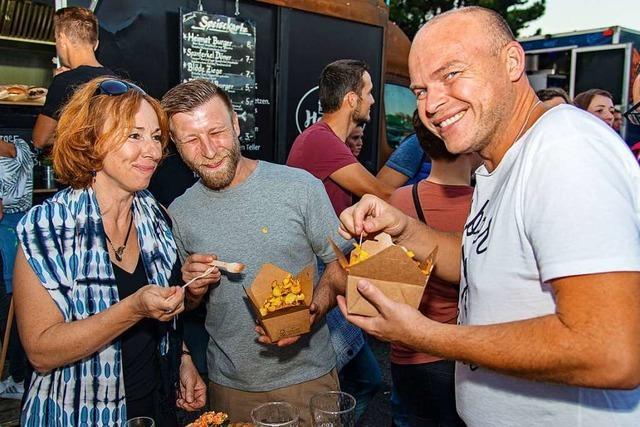 Erstes Food-Truck-Festival in Ettenheim: Stadt und Veranstalter sind zufrieden