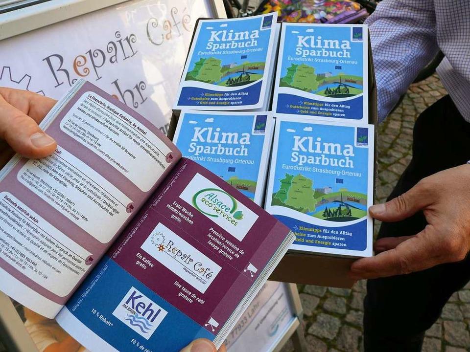 Klimasparbücher  | Foto: Stadt Lahr