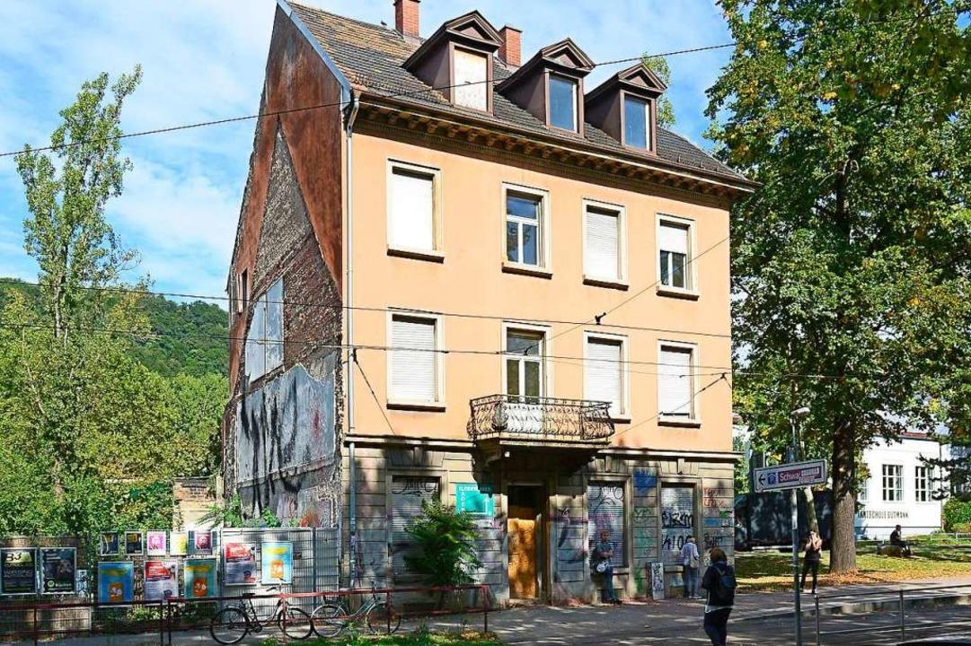 Das Haus Schwarzwaldstraße 31 steht seit 2012 leer.    Foto: Ingo Schneider