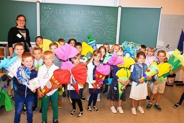 106 Erstklässler starten an der Johann-Peter-Hebel-Grundschule in Gundelfingen