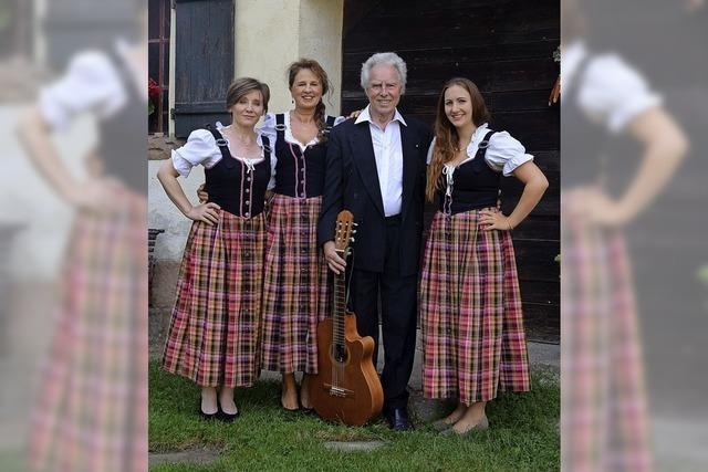 Jürgen Seitz und sein Trio geben ihr Herbstkonzert auf dem Ottersweierer Hof